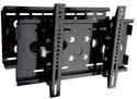 Lorenzo Porsche Quad Cantilever Arm Full Motion Carbon Black Easy Installation Ultra Low Profile Flat Panel LCD TV Wall Mount Bracket with Touch & Tilt System up to 37""