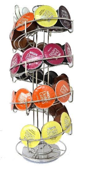 24 Dolce Gusto Coffee Pod Capsule Holder Storage