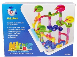 105pcs Marble Run Race Construction Maze Ball Track Building Blocks Game Xmas